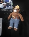 View Toy, Smokey Bear plush, Space Flown digital asset number 4