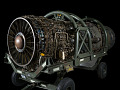 View Pratt & Whitney J58 (JT11D-20) Turbojet Engine digital asset number 1