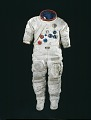 View Pressure Suit, A7-LB, Schmitt, Apollo 17, Flown digital asset number 1