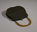 View Brown handbag with amber handle from Mae's Millinery Shop digital asset number 7