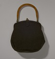 View Brown handbag with amber handle from Mae's Millinery Shop digital asset number 8