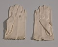 View Pair of small taupe gloves with embroidery from Mae's Millinery Shop digital asset number 2