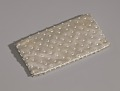 View Ivory satin clutch with sequins and beading from Mae's Millinery Shop digital asset number 8