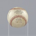 View Baseball stamped with the Negro American League logo digital asset number 3