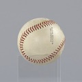 View Baseball stamped with the Negro American League logo digital asset number 8