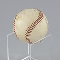 View Baseball stamped with the Negro American League logo digital asset number 11