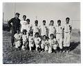 View Outdoor Group Shot of Children Wearing Baseball Uniforms, Little League digital asset number 0