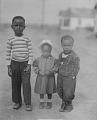 View Outdoor Portrait of Three Children Standing digital asset number 0
