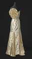 View Gold lamé strapless dress designed by Peter Davy digital asset number 0
