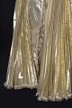 View Gold lamé strapless dress designed by Peter Davy digital asset number 4