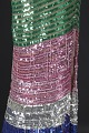 View Fitted dress with rainbow sequins and beading designed by Peter Davy digital asset number 3