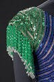 View Fitted dress with rainbow sequins and beading designed by Peter Davy digital asset number 4