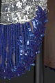 View Fitted dress with rainbow sequins and beading designed by Peter Davy digital asset number 10