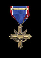 View Distinguished Service Cross and ribbon issued to Lewis Broadus digital asset number 1