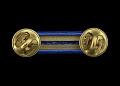 View Distinguished Service Cross medal ribbon bar issued to Lewis Broadus digital asset number 1