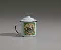 """View Mug and lid for """"Jolly Boy Black Tea"""" depicting a """"picaninny"""" boy digital asset number 2"""