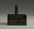 """View Donation box and lid with a carving for the """"Alabama Coon Fund"""" digital asset number 1"""