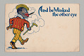 "View Postcard of ""And he Winked the other eye"" digital asset number 0"