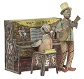 """View Tin windup toy of """"Ham and Sam The Minstrel Team"""" digital asset number 0"""