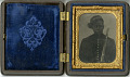 View Ambrotype of a Civil War soldier digital asset number 0