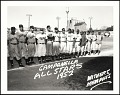 View <I>Hank Thompson, Suitcase Simpson, Larry Doby, Roy Campanella, George Crowe, Monte Irvin, New York Cubans.</I> digital asset number 0