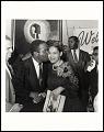 View <I>Rev Ralph Abernathy embracing Rosa Parks, Benjamin Hooks on left, SCLC Convention, Memphis, TN</I> digital asset number 0