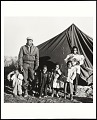 """View <I>""""Tent City"""" family, Fayette County, TN</I> digital asset number 0"""