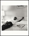 View <I>Dr. Martin Luther King, Jr. resting in Lorraine Motel following March Against Fear, Memphis, TN</I> digital asset number 0