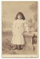 View Cabinet card of an unidentified girl digital asset number 0