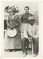 View Postcard of Harriet Tubman, Nelson Davis, and daughter Gertie digital asset number 0