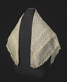 View Silk lace and linen shawl given to Harriet Tubman by Queen Victoria digital asset number 1
