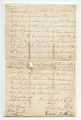 View Bill of sale for a girl named Clary purchased by Robert Jardine for 50 pounds digital asset number 0