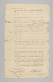 View Bahamian bill of sale for enslaved individuals, Trim and Flora digital asset number 0