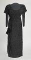 View Black beaded dress designed by Zelda Wynn and worn by Ella Fitzgerald digital asset number 0