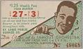 View Transit pass for St. Louis Public Service Company depicting Duke Ellington digital asset number 0