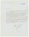 "View Letter to Margaret Martin Wallace (""Meg"") from Josephine Baker digital asset number 0"
