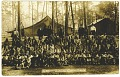 View Picture postcard of a North Carolina Convict Camp digital asset number 0