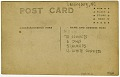 View Picture postcard of a North Carolina Convict Camp digital asset number 1