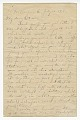 View Letter to Oscar W. Price from Colonel Charles Young digital asset number 0