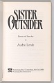 View <I>Sister Outsider: Essays and Speeches by Audre Lorde</I> digital asset number 3