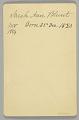 View Cabinet card of Sarah Ann Blunt Crozley digital asset number 1