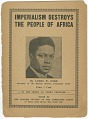 View <I>Imperialism Destroys the People of Africa</I> digital asset number 0