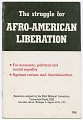 View <I>The Struggle for Afro-American Liberation</I> digital asset number 0