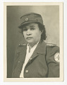 View Photograph of Frances Albrier wearing a Red Cross uniform digital asset number 0