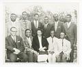 View Photograph of Frances Albrier and ten Congolese teachers digital asset number 0