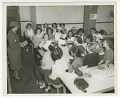 View Photograph of Frances Albrier teaching a first aid class digital asset number 0