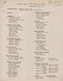 View Membership list for the National Council of Negro Women, San Francisco Chapter digital asset number 0