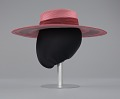View Pink and purple cartwheel hat from Mae's Millinery Shop digital asset number 8