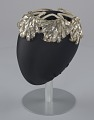 View Ivory and silver sequin and beaded cap from Mae's Millinery Shop digital asset number 5
