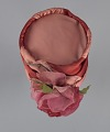 View Pink and red hat with pink rose decoration from Mae's Millinery Shop digital asset number 5